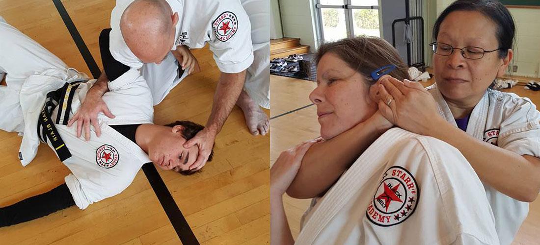 Kyshu Jitsu Class in Greenville NY